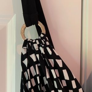 Vince Camuto Dresses - Never worn Vince Camuto long black and white dress